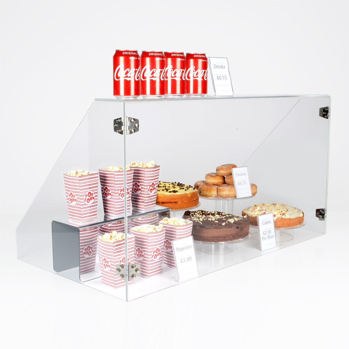 Made in the UK Flat Pack Food Sneeze Screen Guard Cover Display