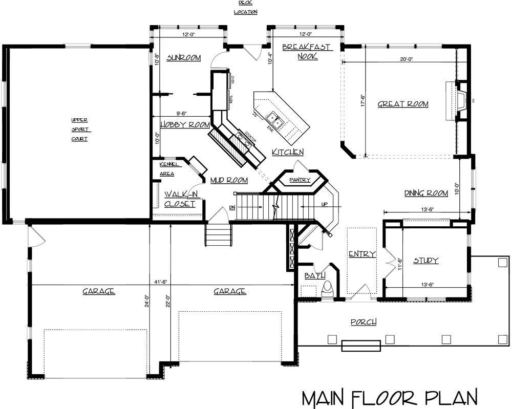 Craftsman Three Story House Plan Floor Plans Story House How To Plan