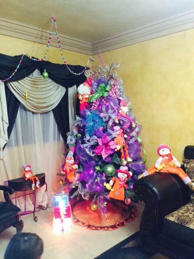 Navidad morada