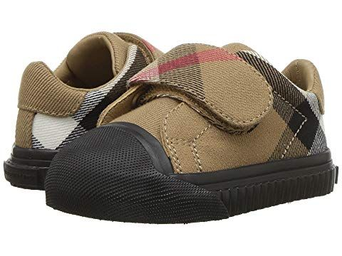 c7e92ee6716cff Burberry Kids Beech Check Trainer (Infant Toddler)