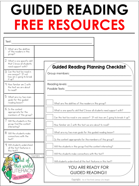 9 Essential Questions When Planning For Guided Reading Pinterest