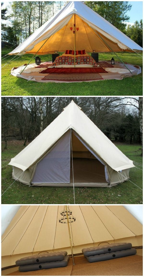 DANCHEL Luxury Canvas Tent Bell Tents  | CAMPING | Luxury