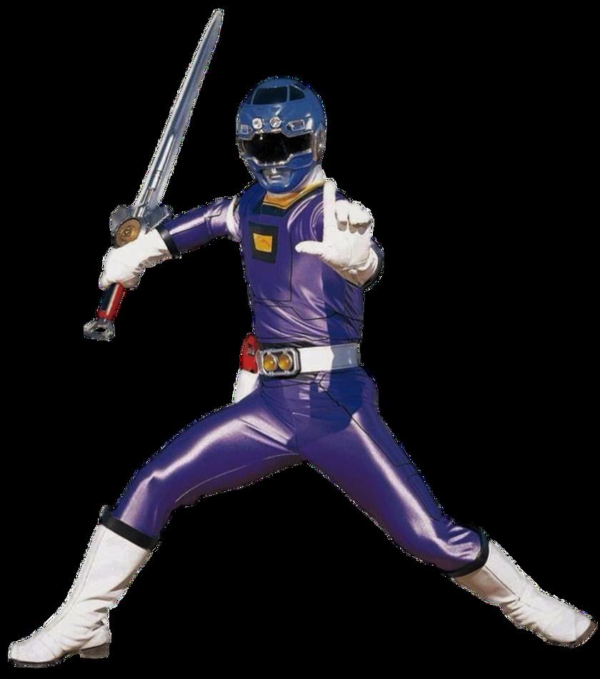 Turbo Blue Ranger Transparent! by CamoFlauge Ranger