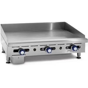 Imperial Range Imga 4828 48 Commercial Gas Griddle Counter Top