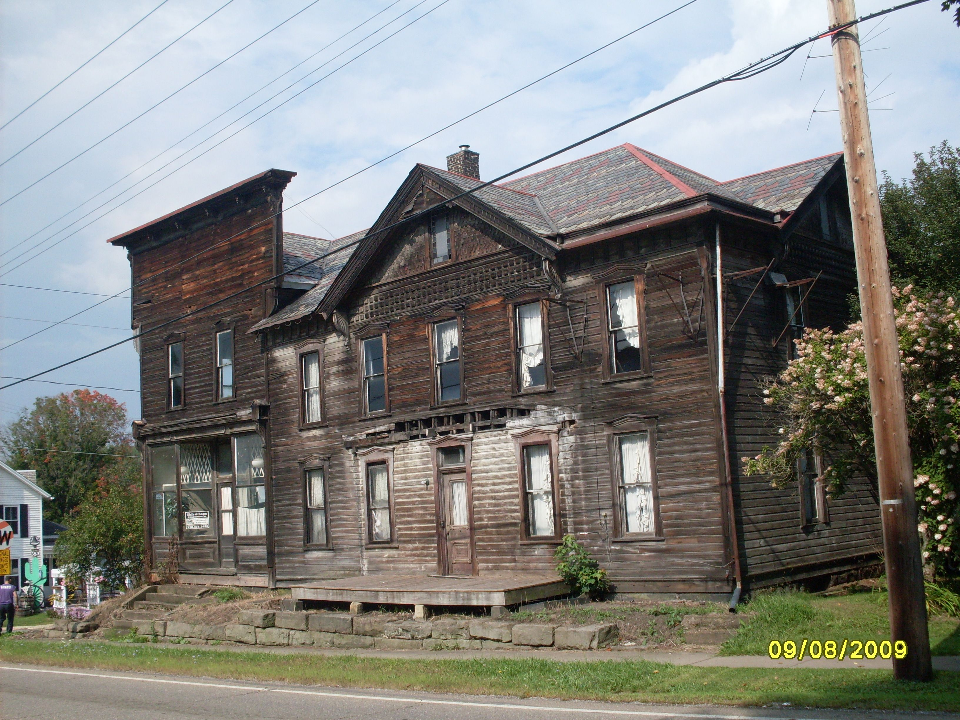 Ohio columbiana county rogers - A General Store And Old Hotel In Rogers Ohio Yes They Are Still