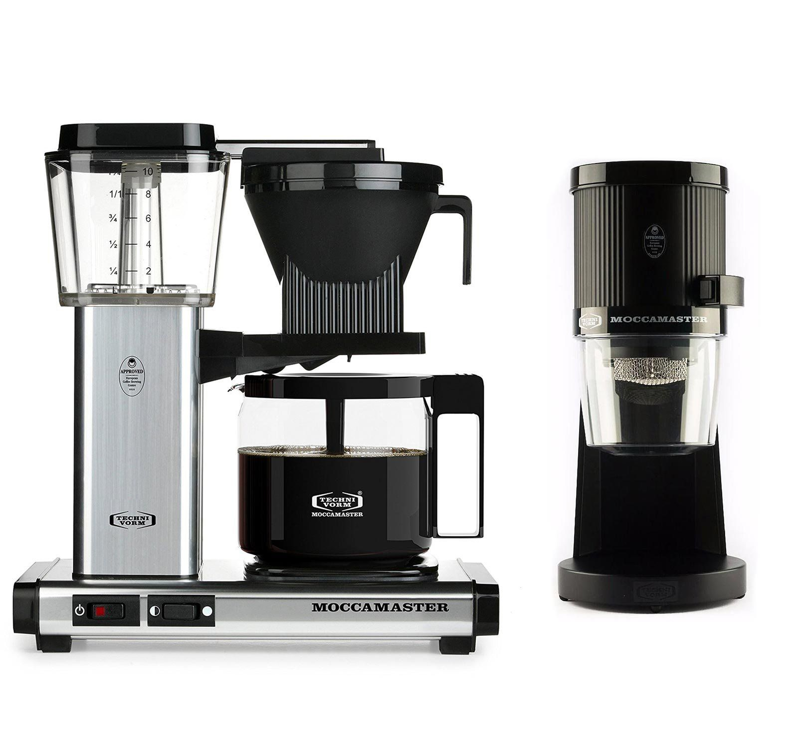 Technivorm Moccamaster KBG Glass Carafe Brewer Bundle with