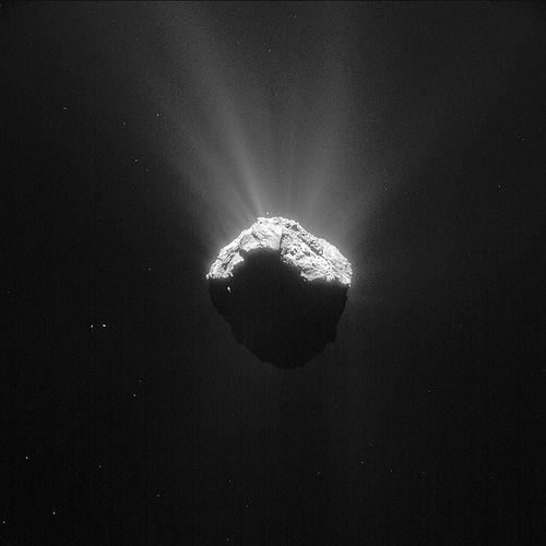 Comet 67P on 15 April 2015 (c) – NavCam | Flickr - Photo Sharing!