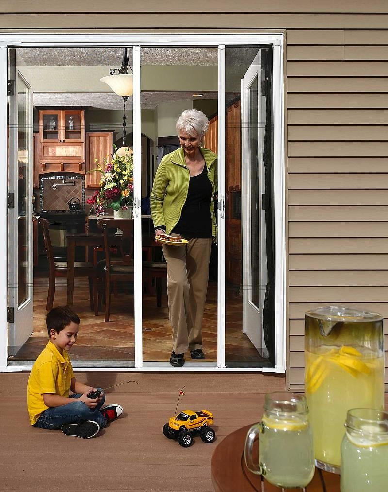 Brisa Retractable Screen Doors Retractable Screen Screen Door Retractable Screen Door