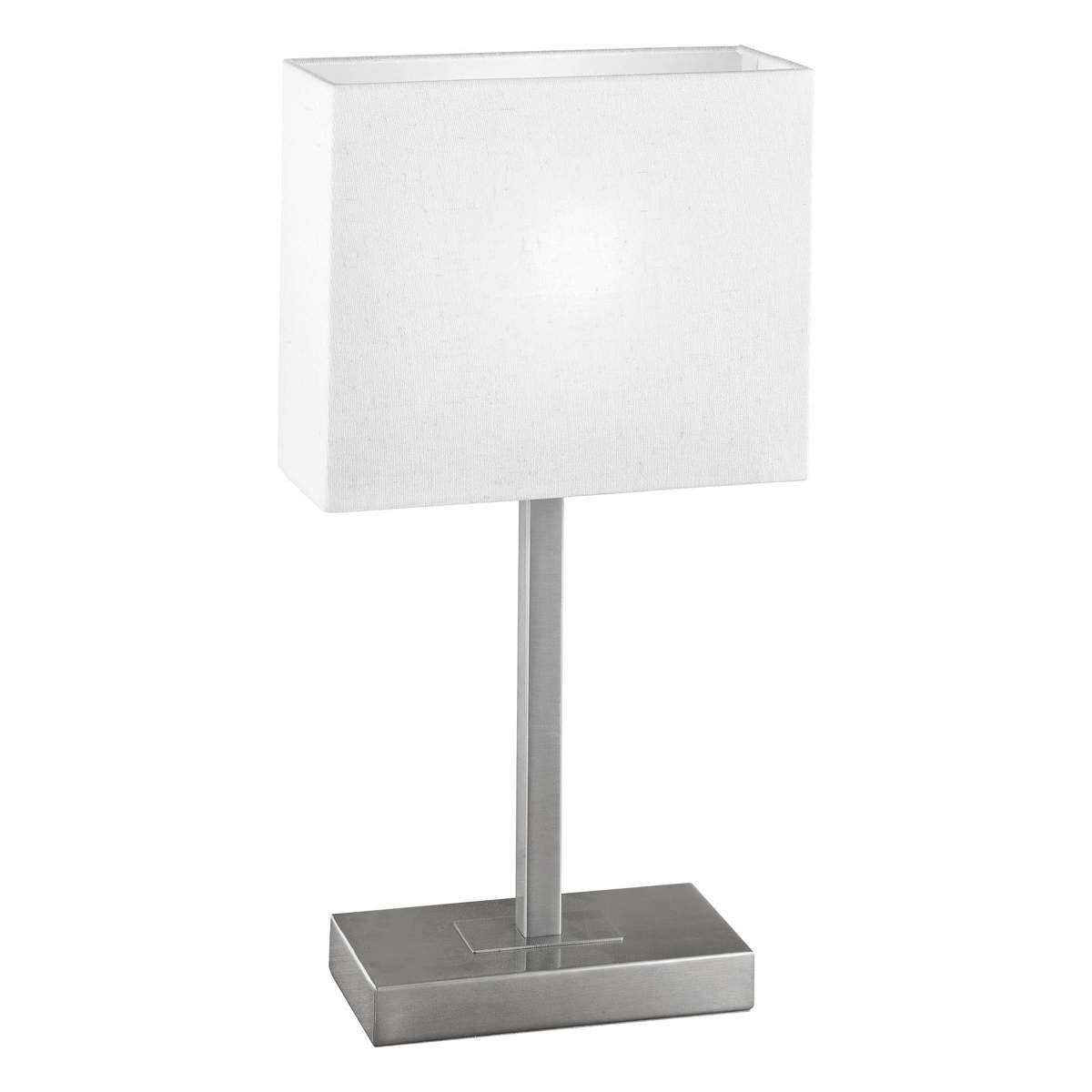 tischlampe eckig  nachttischlampe schirm  moderne leuchten