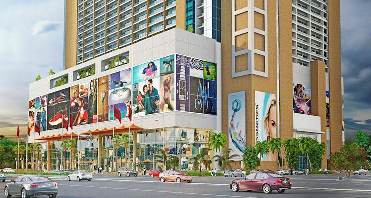 Pin By Office Space Noida On Pks Town Central Shop Shop In Noida Office Space Modern Office Space City