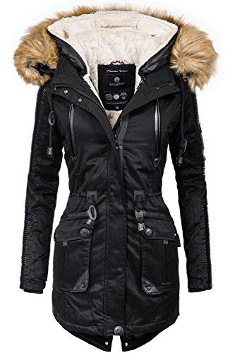 Warme winterjacke damen vegan