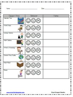 Mrs wills kindergarten classroom behavior chart student also best images in ideas school rh pinterest