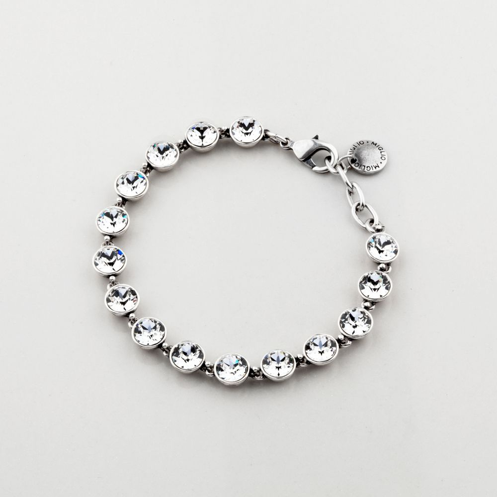 Miglio Designer Jewellery - Timeless Petite Swarovski Crystal Tennis Bracelet, R899.00 (http://shopza.miglio.com/shop-by-product/timeless-petite-swarovski-crystal-tennis-bracelet/)