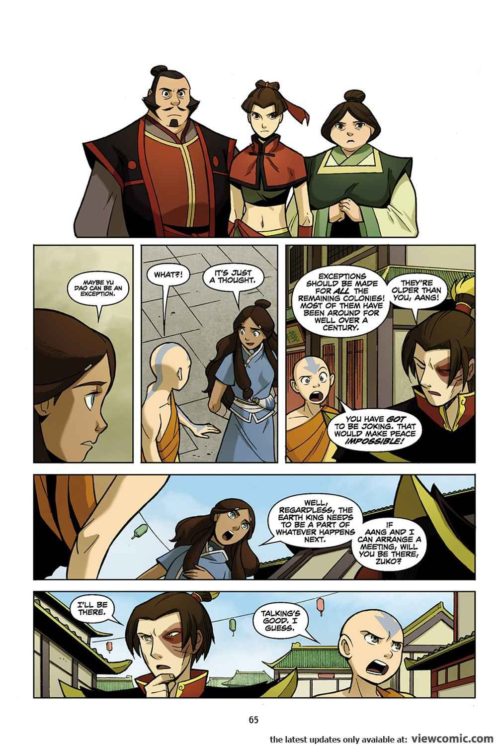Avatar The Last Airbender The Promise Part 1 2012 View Comic Avatar Avatar The Last Airbender Funny The Last Airbender