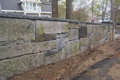 Reclaimed granite blocks - Retaining Wall Stones - Stone