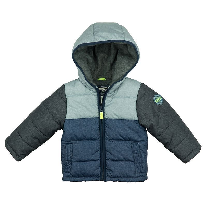 7f4528e4e Toddler Boy OshKosh B gosh® Quilted Colorblock Heavyweight Puffer ...