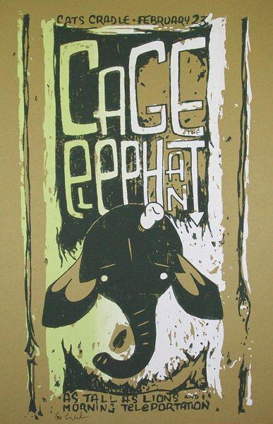 cage the elephant music album art