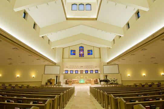 Sanctuary Designs For Small Churches White Theatrical
