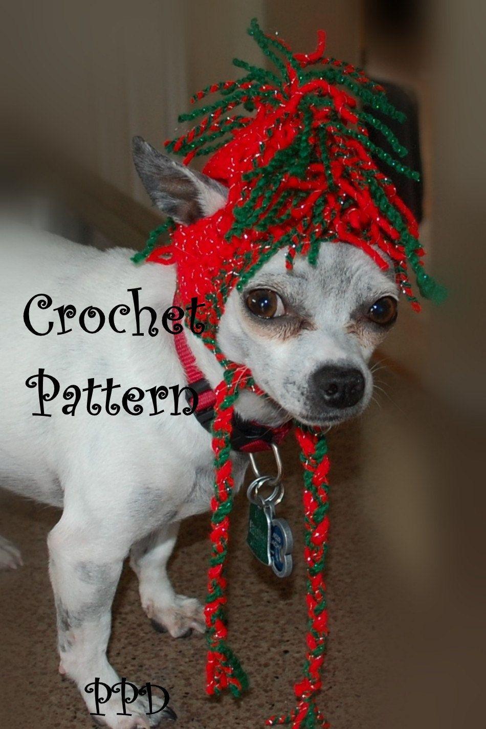 Crochet+Pattern+Jingle+Bell+Rock+Dog+Hat+by+poshpoochdesigns,+$3.99 ...