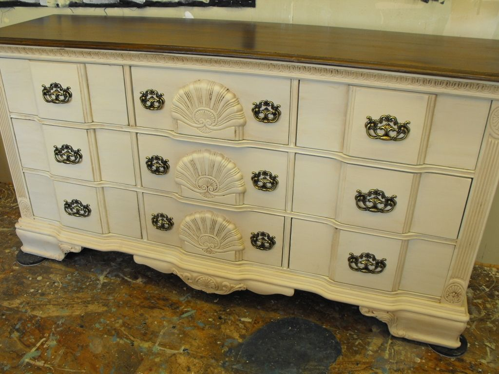 Painted by liz stevens of panther creek studio gorgeous kathy ireland buffet or dresser