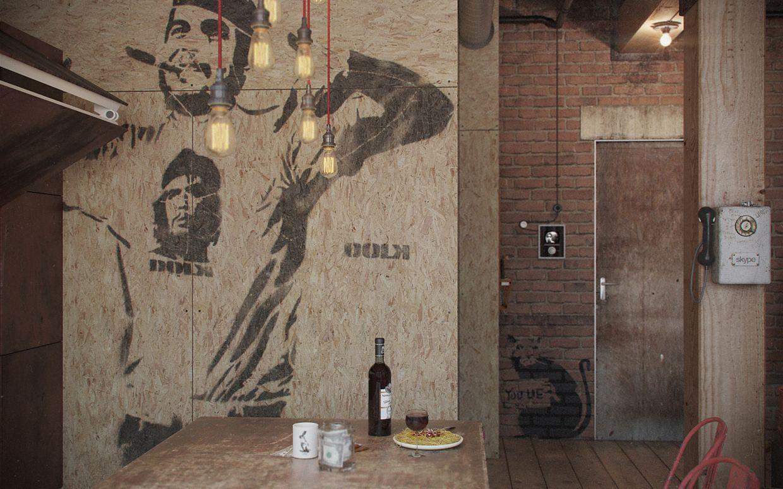 Industrial Interior Design Den Loft The Perfect Man Cave