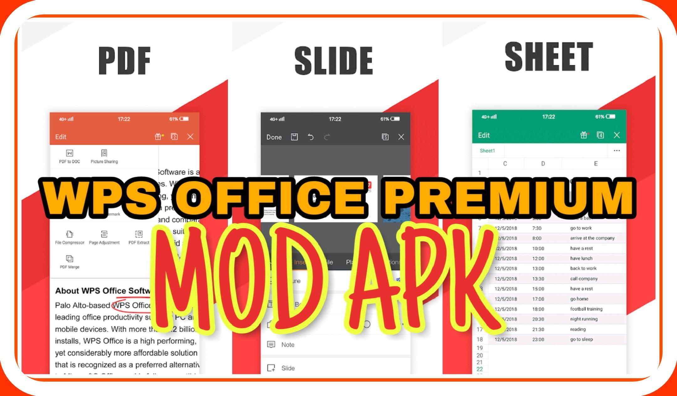 Download Wps Office Premium Mod Apk Pdf To Word Unlock Tablet Aplikasi Website