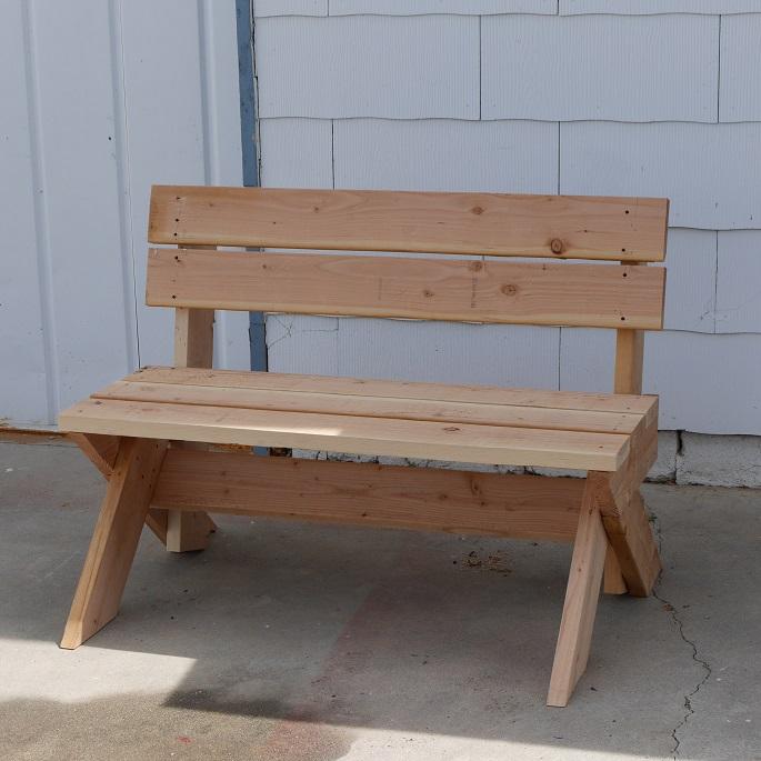 Diy 2x6 Outdoor Bench Construct101 Outdoor Bench Plans Diy Outdoor Furniture Plans Wood Bench Outdoor
