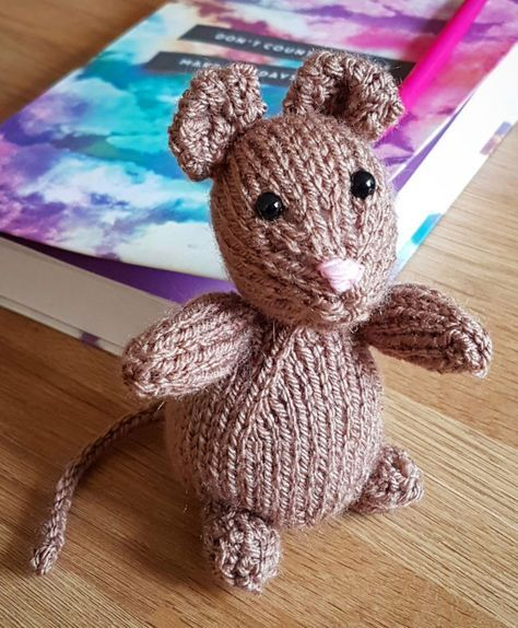 Free Knitting Pattern For Freddie The Field Mouse He Measures 10cm