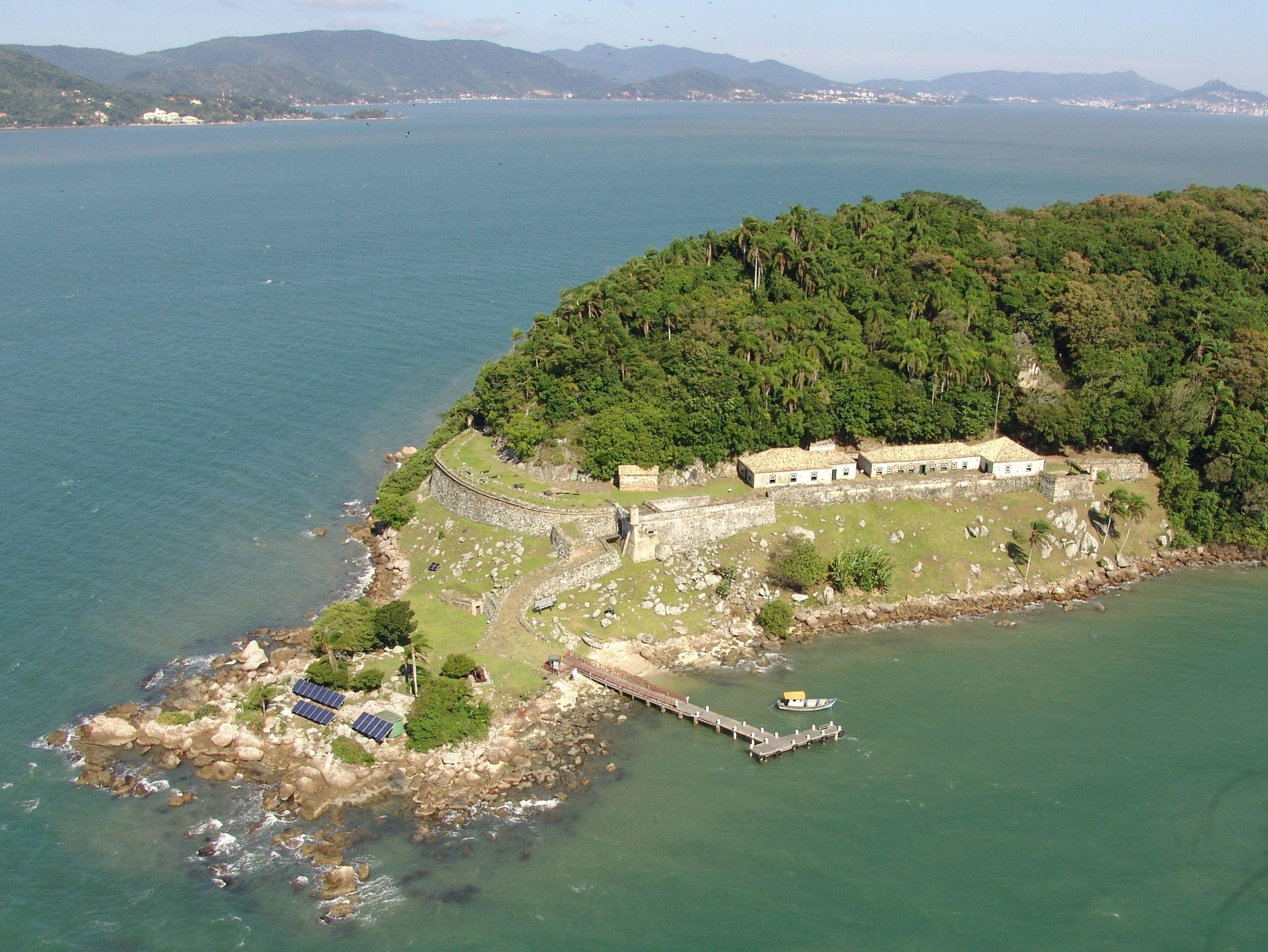 Projeto Fortalezas da Ilha de Santa Catarina » Fortaleza de Santo Antônio de Ratones