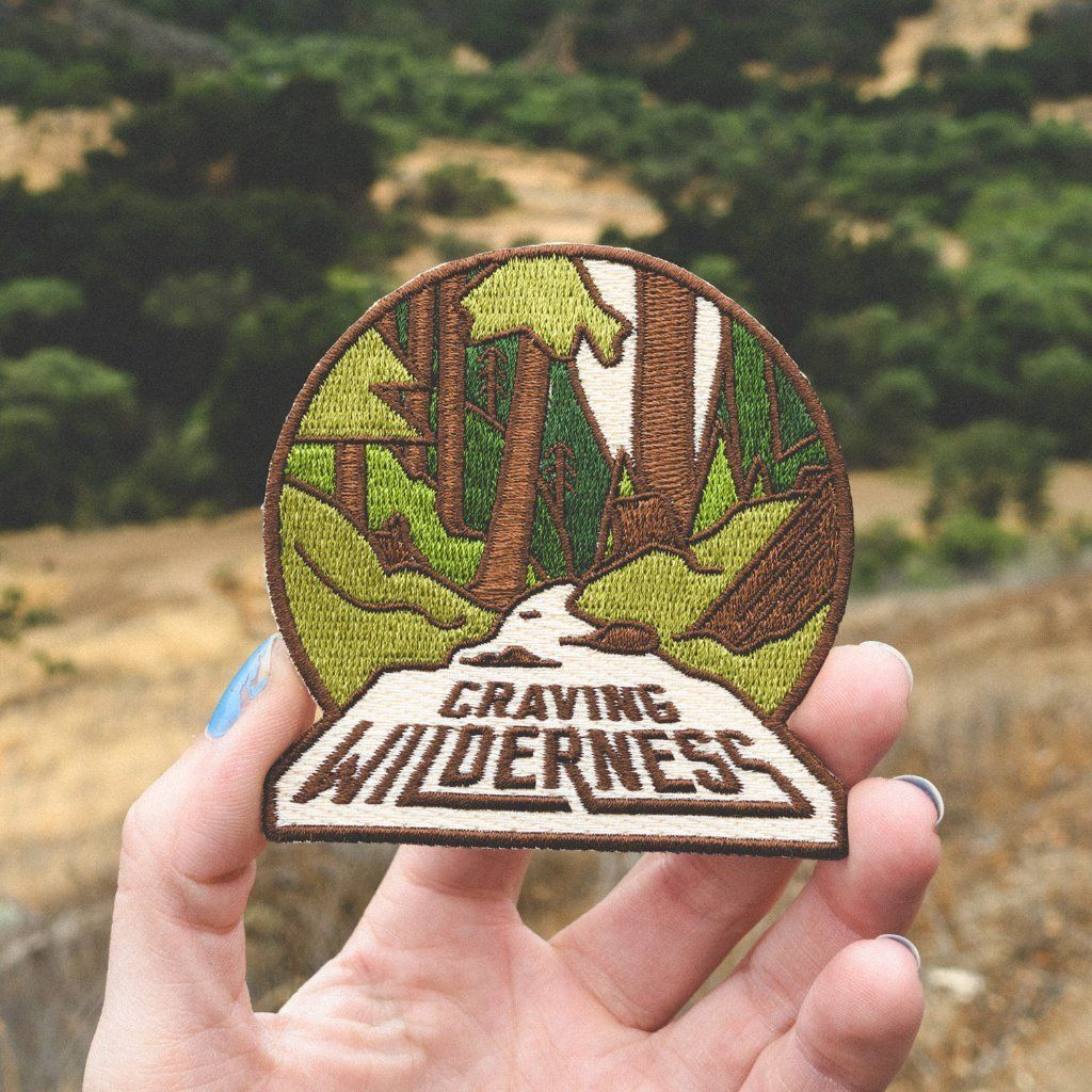 Iron on Patch OHoulihans Leave The Road Take The Trail Patch Hiking Camping Travel Adventure Patch