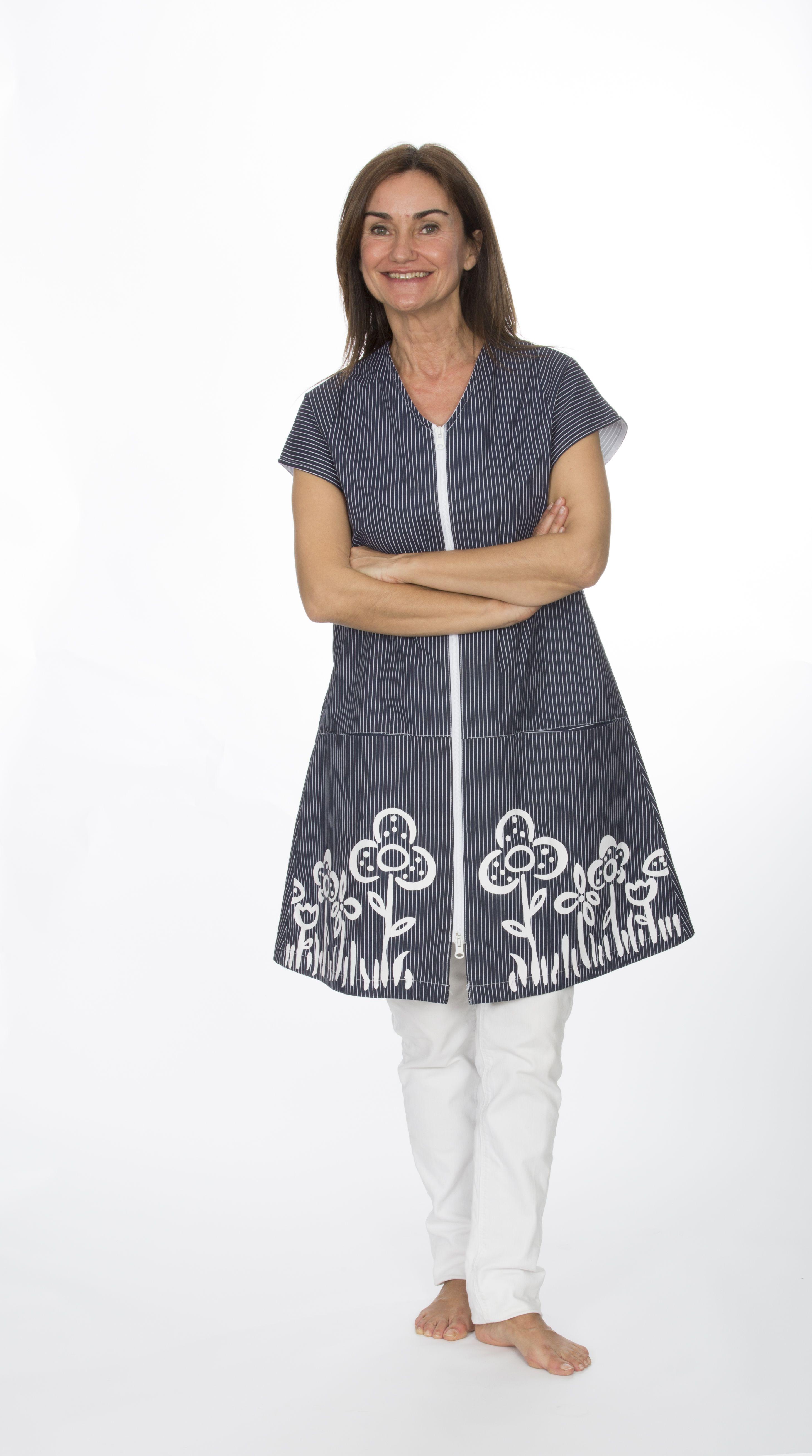batas maestra batas laborales | Costuras y maquina de coser ...