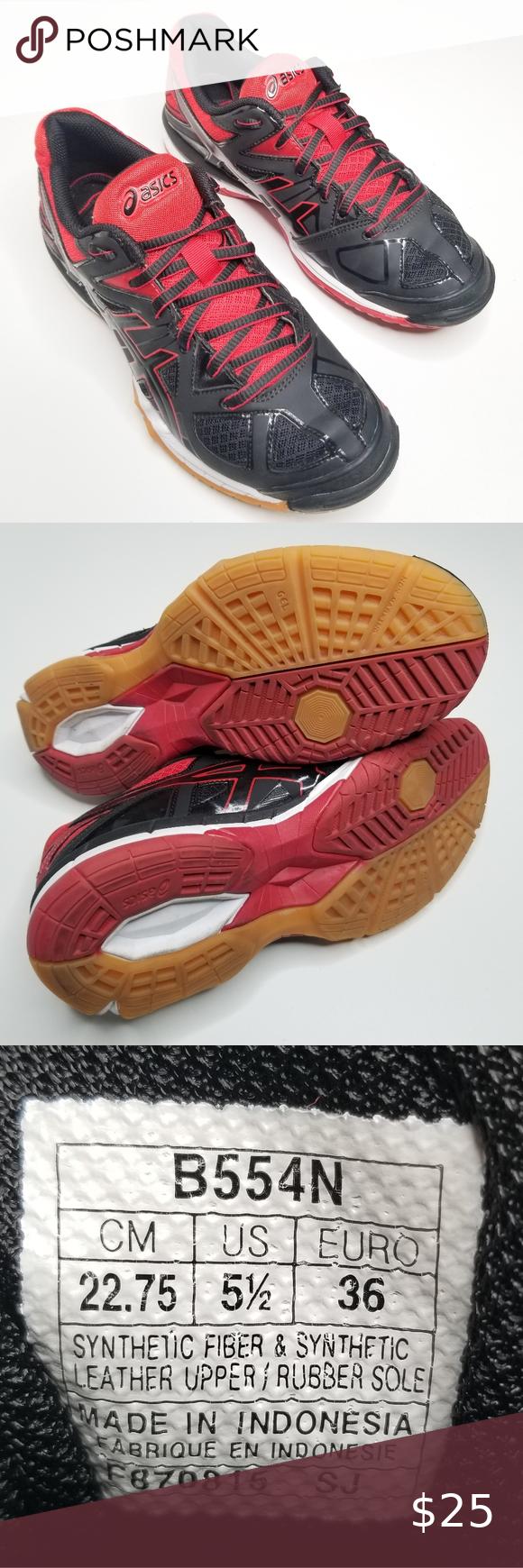 Asics Gel Tactic Volleyball Shoe Women S 5 5 In 2020 Asics Women Volleyball Shoes Women Shoes