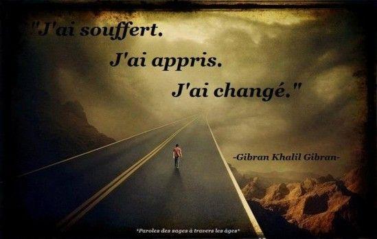 citation j'ai change