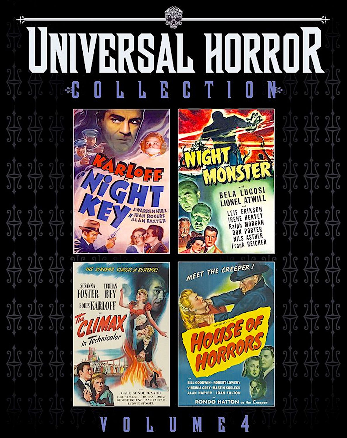 UNIVERSAL HORROR COLLECTION VOLUME 4 NIGHT KEY / NIGHT