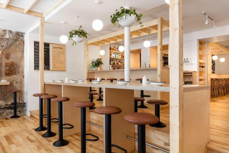 Das \u201eHonō Izakaya\u201c in Quebéc Pinterest Restaurant bar - küche mit bar