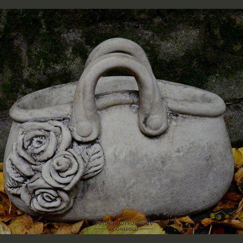 Happy Larry Lewis Handbag Stone Garden Statue Planter In 400 x 300