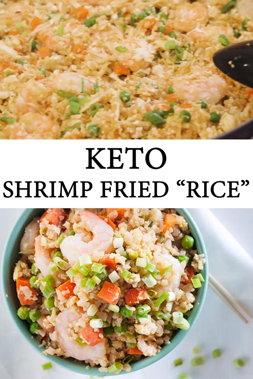 Keto Shrimp Fried Cauliflower Rice