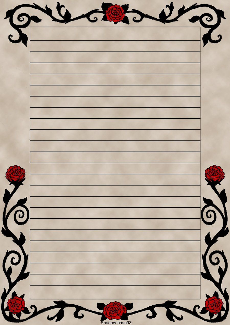 This is an image of Rare Lined Letter Writing Stationery