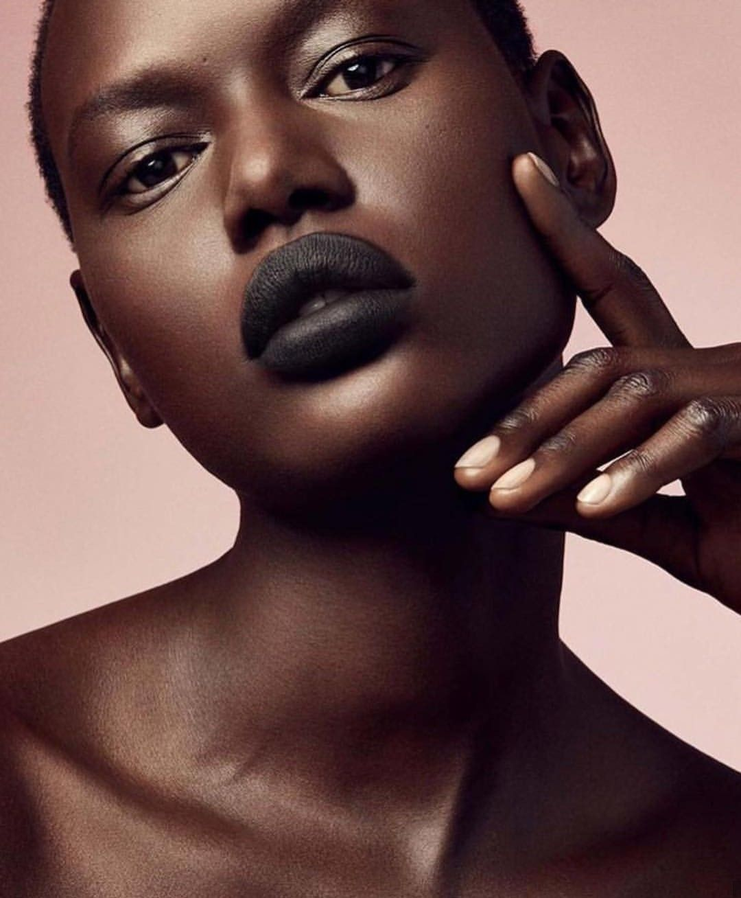 Ajak Deng for Fenty Beauty Fenty beauty, Matte lipstick