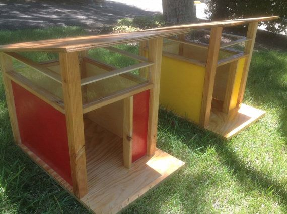 Colorful Modern Design Dog House S Handcrafted By Citydesigninc