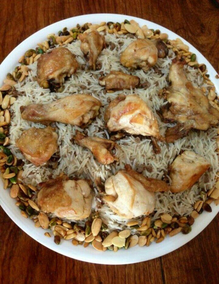 تطبيقة رز مع دجاج Main Meals Recipes Pork