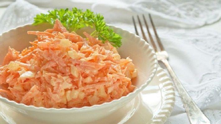 Состав: Морковь — 4-5 штук (среднего размера) Яйца вареные ...