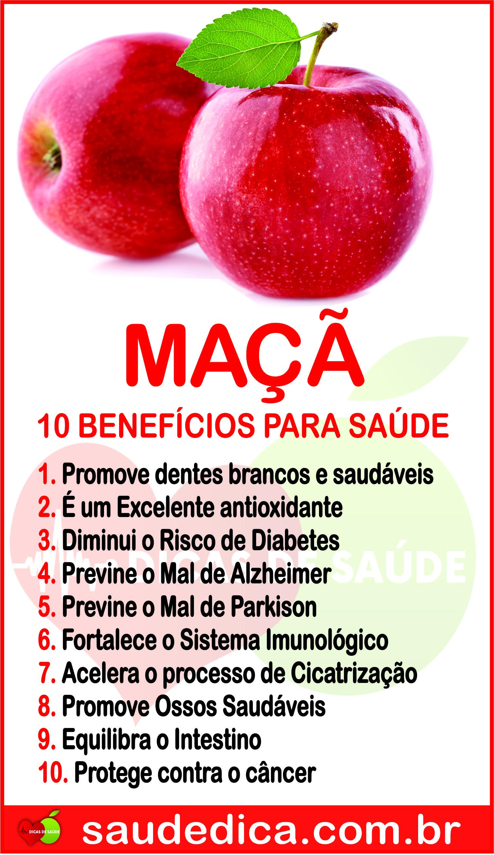 Os 15 Benefícios da Maçã Para Saúde! #Maçã #BenefíciosMaçã ...