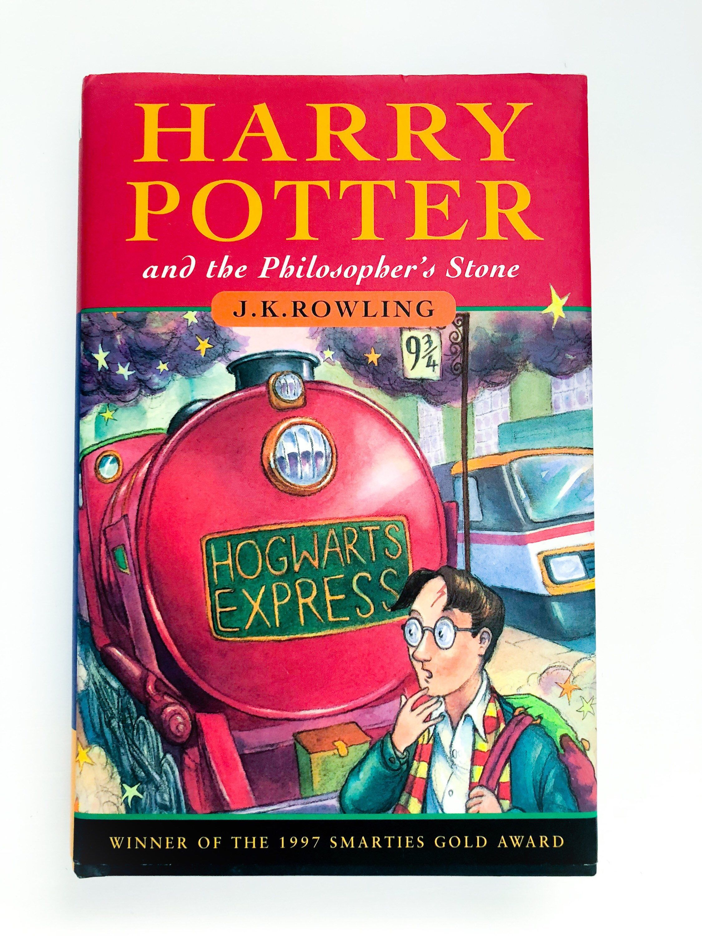 J K Rowling Harry Potter And The Philosophers Stone 1997