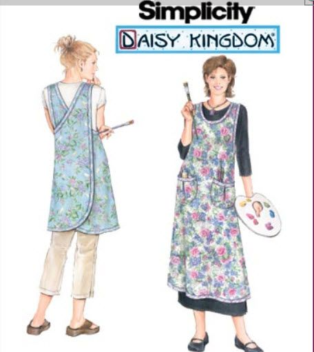 Simplicity 40 Daisy Kingdom Apron Sewing Pinterest Sewing Extraordinary Simplicity Apron Patterns
