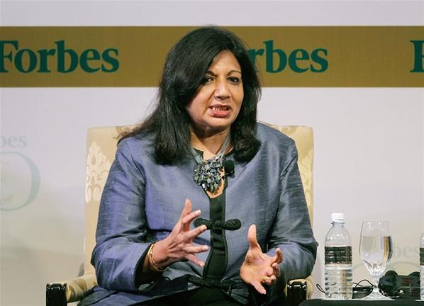 Kiran Mazumdar Shaw Chairman Managing Director Of Biocon