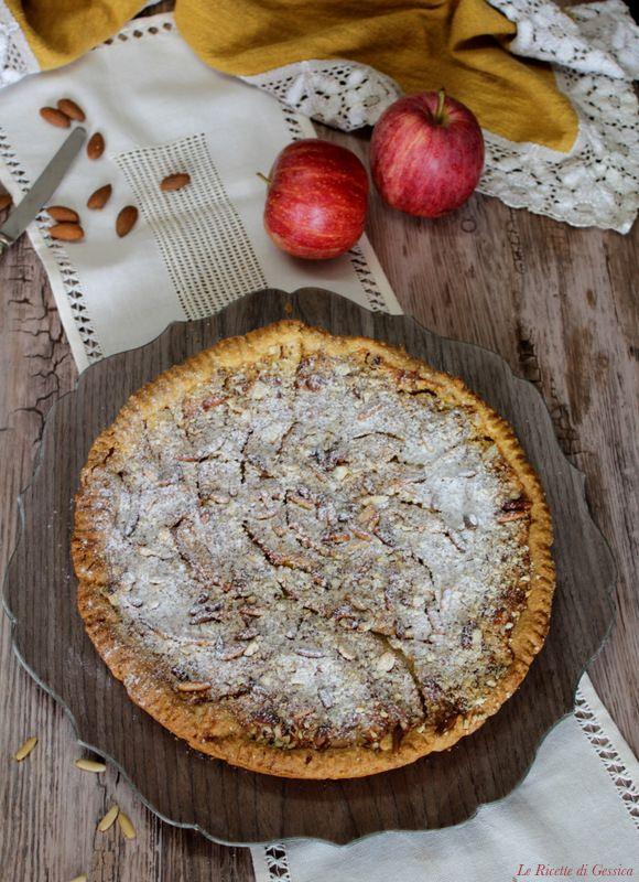 Ricetta torta crema e pinoli bimby