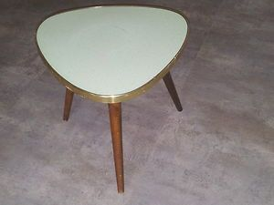 table basse guèridon studio formica tripod design 70 vintage ...