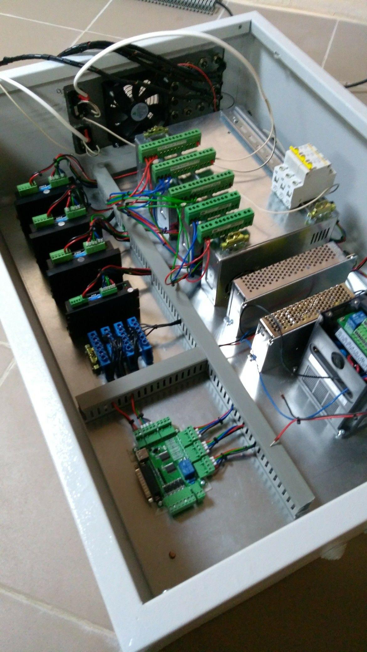 Pin By Stan Khalipa On Selvox Cnc Build Log Cnc Controller Cnc Router Machine Diy Cnc