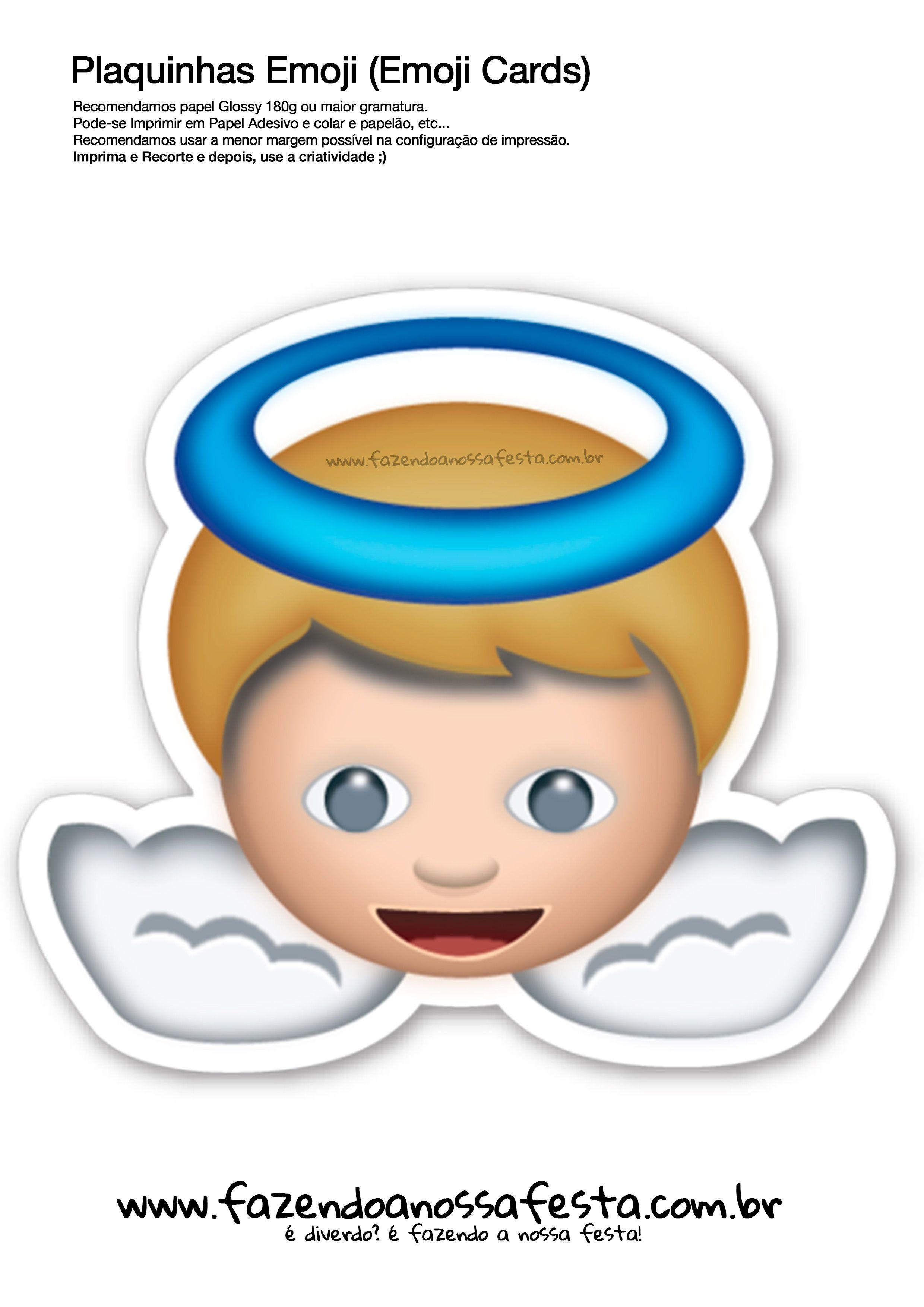 Plaquinhas Emoji Whatsapp 33